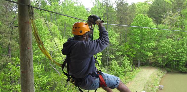 Canopy Zipline tour in Long Creek, South Carolina