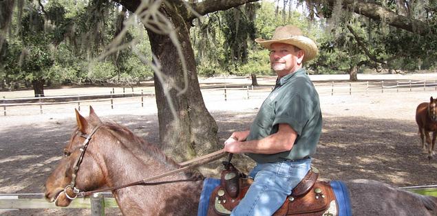 David Holycross of South Carolina's Middleton Equestrian Center