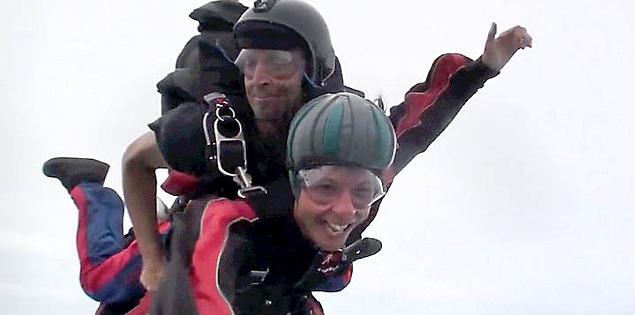 Skydiving with Skydive Carolina over Chester, South Carolina