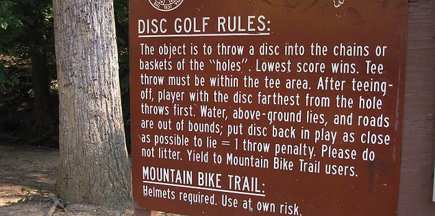 Disc golf Upstate in Greenville, South Carolina