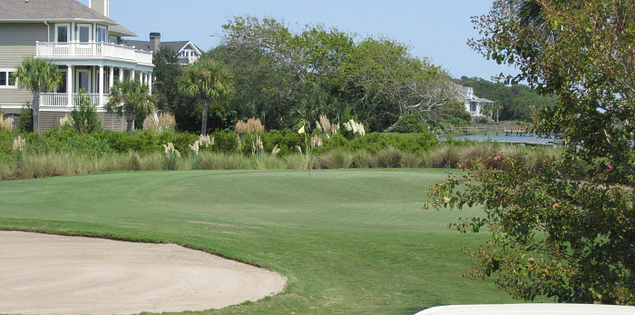 9th hole at Kiawah Island Resort's Oak Point Course