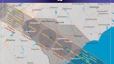 Total Solar Eclipse Santee SC