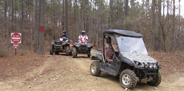 Ride ATVs, UTVs at Carolina Adventure World in Winnsboro, South Carolina