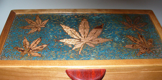 Work by South Carolina woodworking artist John Patton