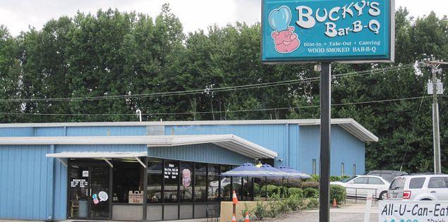 Bucky's Bar-B-Q in Greenville, South Carolina