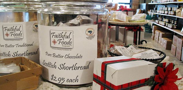 Shortbreads from Faithful Foods at Orangeburg's Five Rivers Market