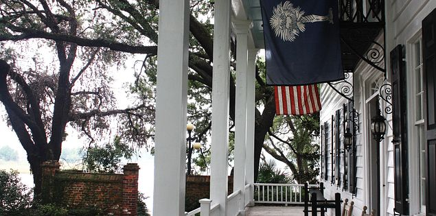South Carolina's Kaminski House overlooking the Sampit River in Georgetown