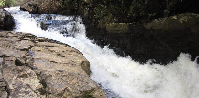 Chauga Narrows on the Chauga River in South Carolina