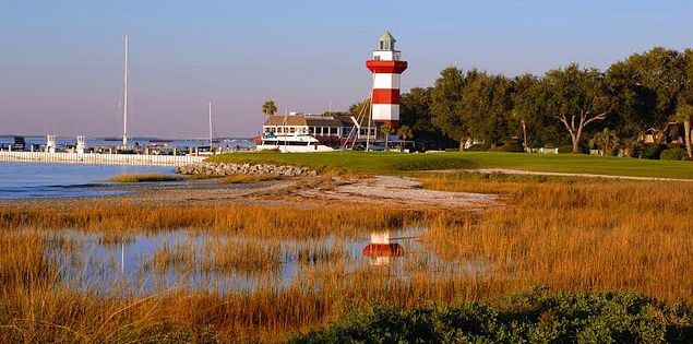 Golf with the entire family at Harbour Town Golf Links.