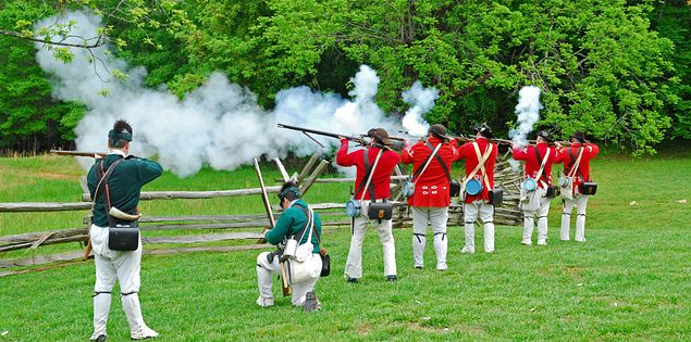 Musgrove Mill battle revolution