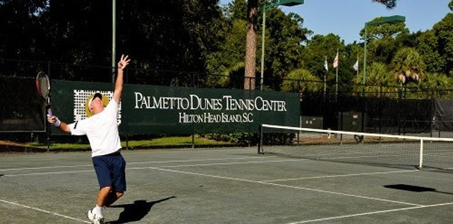 Top tennis courts and camps on Hilton Head Island, SC.