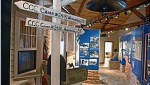 Civilian Conservation Corps Museum at the Drummond Center