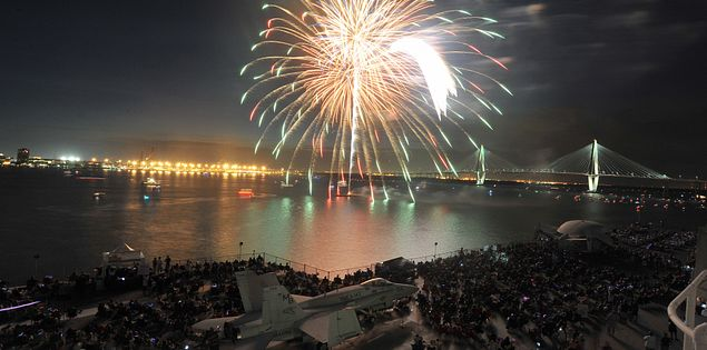 Looking for things to do in Charleston, SC? Check out one of the biggest Fourth of July fireworks shows in South Carolina!