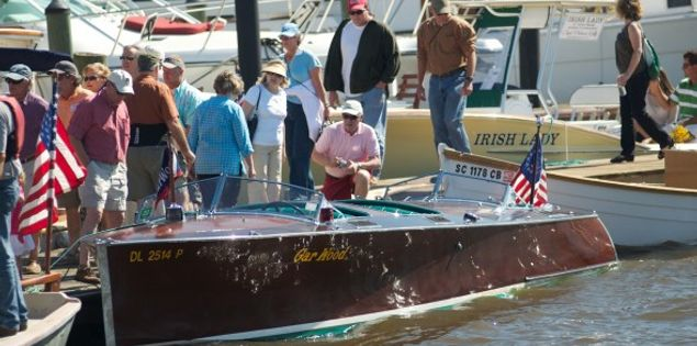 georgetown wooden boat show