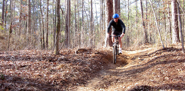 Mountain biking on some of South Carolina's toughest trails