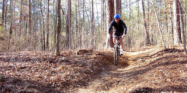 Mountain biking on some of South Carolina's toughest trails