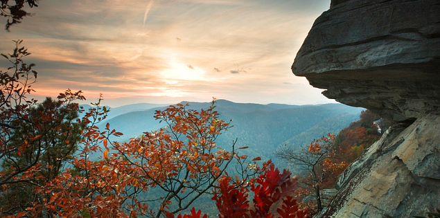 Caesars Head State Park in Upstate South Carolina
