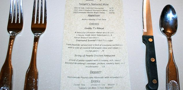 south of pearl menu