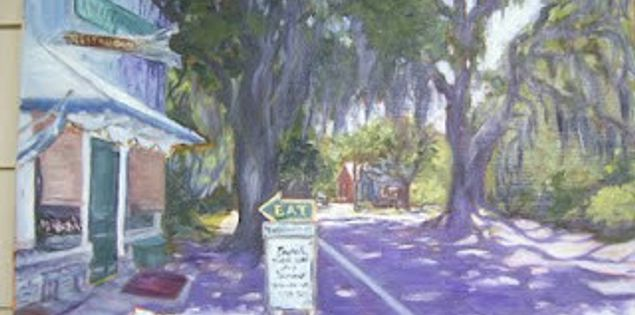 Painting by Lowcountry artist Noelle Brault