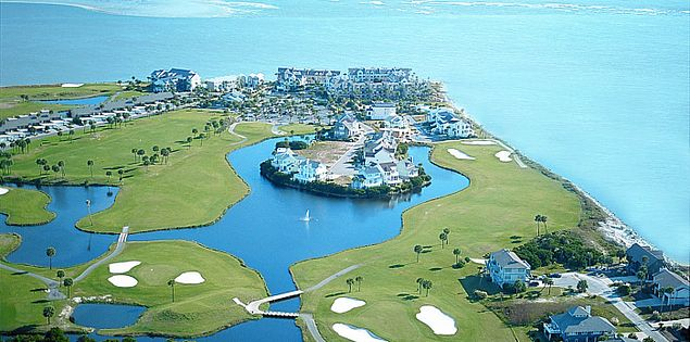 Golf at Fripp Island's Ocean Point in South Carolina