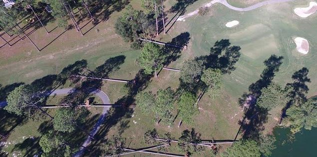 golf course hurricane matthew