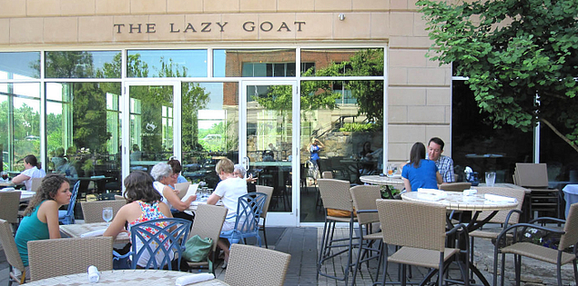 The Lazy Goat located in Greenville, South Carolina.