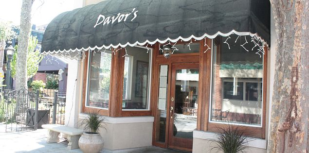 Davor's Cafe in Aiken, SC offers delicious Southern fare.