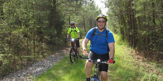 Biking the Palmetto Trail Peak to Prosperity Passage