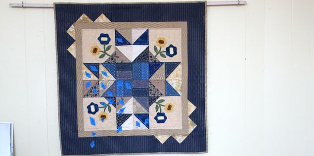 Quilt squares made in Walhalla or Anderson, South Carolina