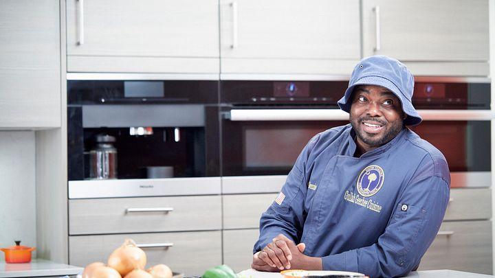 Chef BJ Dennis of Charleston, South Carolina.