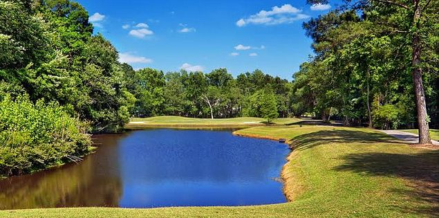 Play golf by the water in South Carolina.