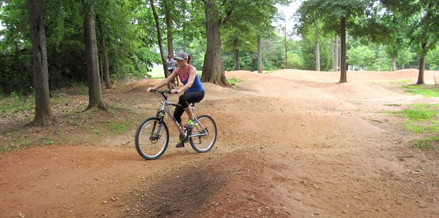Bike Skills Flow Park in Travelers Rest, South Carolina