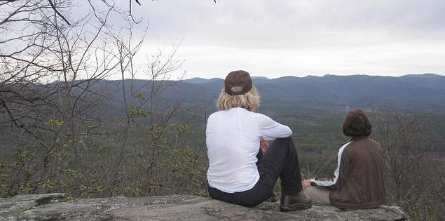 Tamassee Knob Trail in Upstate South Carolina