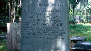 Isaac Hayne Tomb & House Site