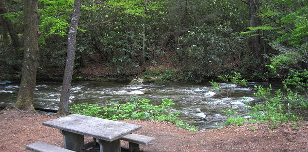 middle saluda river jones gap state park