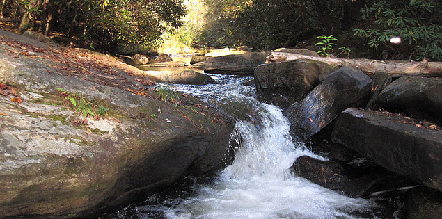 Little Eastatoee Creek in Upstate South Carolina's Long Shoals Park
