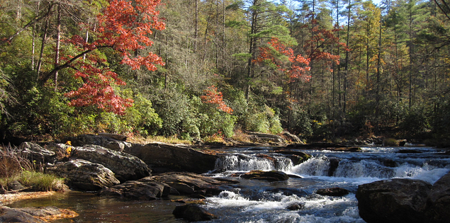Chattooga River in South Carolina
