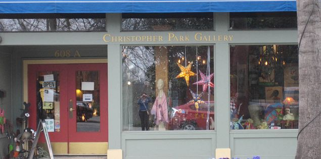 The Christopher Park Gallery in Greenville, South Carolina