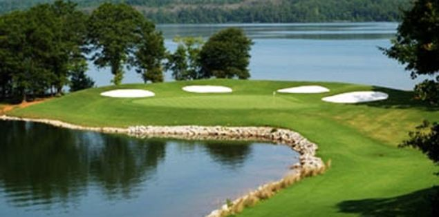 Clemson's Walker Golf Course features the signature Tiger Paw