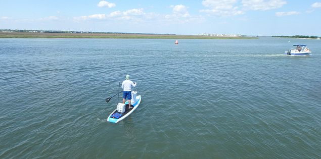 Try paddleboarding on Sullivan's Island or choose from a variety of water sports.