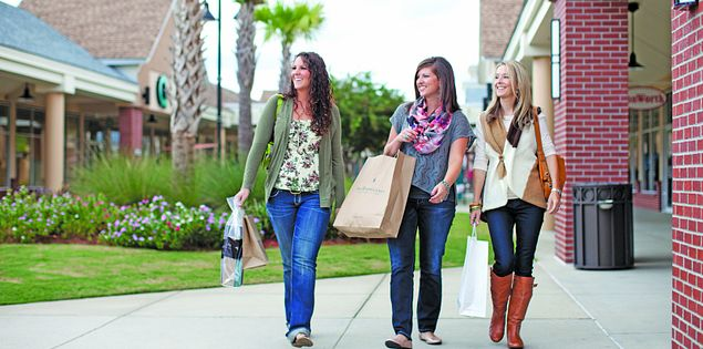 The Tanger Outlets in Myrtle Beach, SC, are home to all of your favorite designers and brands!