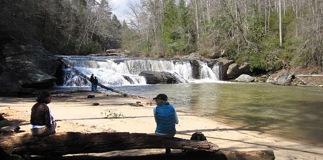 Riley Moore Falls in South Carolina's Upstate