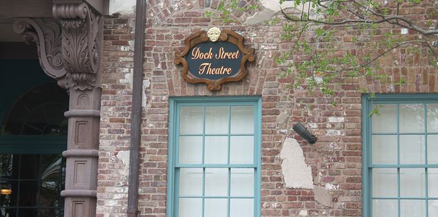 The Dock Street Theatre in Charleston, SC.