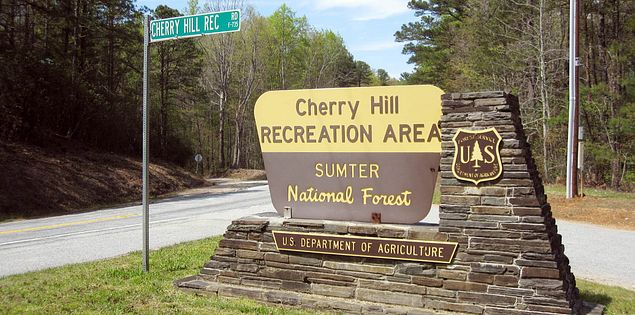 South Carolina's Cherry Hill Campground in Mountain Rest in the Southern Appalachians