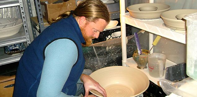 South Carolina artist Kyle Smith is a potter in Columbia