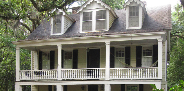 Blake House in Historic Summerville, South Carolina