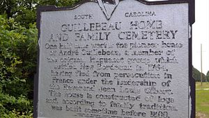 Guillebeau Home And Family Cemetery Historical Marker