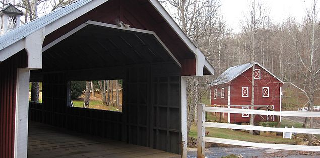 South Carolina Upstate's Ballenger's Mill and Covered Bridge