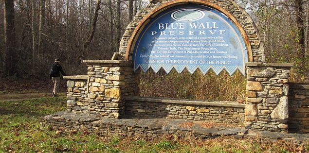 Blue Wall Preserve on South Carolina's Palmetto Trail