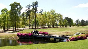 Wyboo Golf Club in Manning is a showcase for spring azaleas.